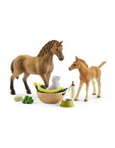 Schleich Horse Club Sarah's baby animal car Schleich 42432 - 1