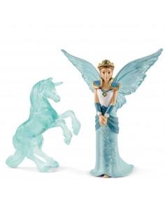 Schleich bayala MOVIE Eyela with unicorn-ice-sculpture Schleich 70587 - 1