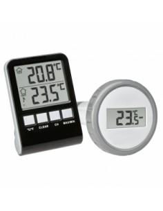 TFA-Dostmann PALMA Indoor/outdoor Liquid environment thermometer Black, Grey Tfa-dostmann 30.3067.10 - 1