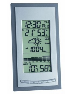 TFA-Dostmann 35.1078.10.IT digital weather station Grey, Silver Tfa-dostmann 35.1078.10 - 1
