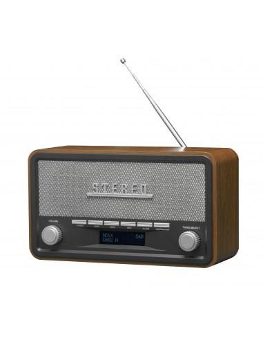 Denver DAB-18 radio Henkilökohtainen Analoginen & digitaalinen Musta, Harmaa Denver 111111000180 - 1