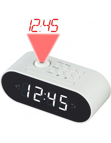 Denver CRP-717 radio Kello Digitaalinen Valkoinen Denver 111131000390 - 1