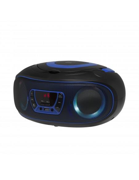 Denver TCL-212BT BLUE CD-soitin Kannettava Musta, Sininen Denver 111141300010 - 5