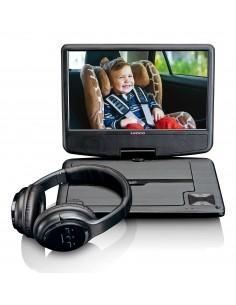 "Lenco DVP-947 Kannettava DVD-/Blu-ray-soitin DVD-soitin Pöydän pinta 22.9 cm (9"") 802 x 480 pikseliä Musta Lenco DCP947BK - 1"