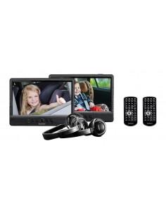 """Lenco DVP-1045 Kannettava DVD-/Blu-ray-soitin DVD-soitin Seinään asennettava Musta 25.4 cm (10"""") 1024 x 600 pikseliä Lenco DVP10"""