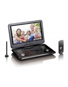 """Lenco DVP-1273 Kannettava DVD-/Blu-ray-soitin DVD-soitin Muunneltava Musta 29.5 cm (11.6"""") 1280 x 720 pikseliä Lenco DVP1273 - 1"""