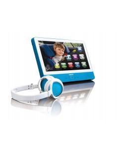 "Lenco TDV-901 Kannettava DVD-soitin Pöydän pinta 22.9 cm (9"") 1024 x 600 pikseliä Sininen Lenco TDV901BLUE - 1"