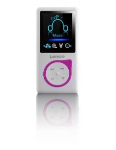 Lenco Xemio-668 MP3-soitin Vaaleanpunainen, Valkoinen 8 GB Lenco XEMIO668PINK - 1