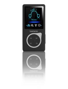 Lenco Xemio-668 MP3-soitin Musta, Valkoinen 8 GB Lenco XEMIO668SCHWARZ - 1