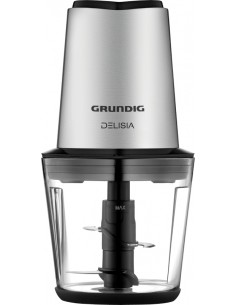 Grundig CH 7680 elektroninen ruoanpilkkoja 0.5 L 500 W Musta, Ruostumaton teräs Grundig GMN9040 - 1