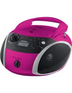 Grundig GRB 3000 BT Digitaalinen 3 W Musta, Vaaleanpunainen, Hopea Grundig GPR1120 - 1