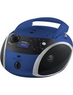 Grundig GRB 4000 BT Digitaalinen 3 W Musta, Sininen, Hopea Grundig GPR1140 - 1