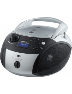 Grundig GRB 4000 BT Digital 3 W Svart, Silver Grundig GPR1150 - 1