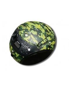 Grundig GRB 4000 BT DAB+ Bärbar CD-spelare Kamouflage Grundig GPR1170 - 1