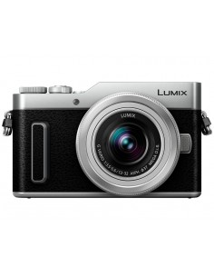 Panasonic Lumix DC-GX880 + 12-32mm f/3.5-5.6 MILC 16 MP Live MOS 4592 x 3448 pikseliä Hopea Panasonic DC-GX880KEGS - 1