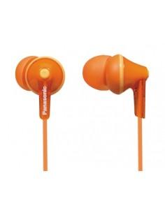 Panasonic RP-HJE125E-D hörlur och headset Hörlurar I öra 3.5 mm kontakt Orange Panasonic RPHJE125ED - 1