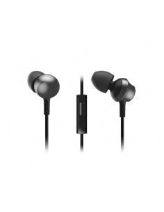 Panasonic RP-TCM360E-K hörlur och headset I öra 3.5 mm kontakt Svart Panasonic RPTCM360E-K - 1