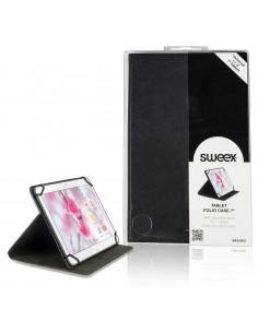 "Sweex SA310V2 iPad-fodral 17.8 cm (7"") Folio Svart Sweex SA310V2 - 1"