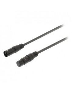 Sweex SWOP15500E15 audiokaapeli 1.5 m XLR (5-pin) Musta Sweex SWOP15500E15 - 1