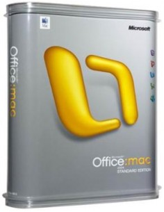 Microsoft Office Mac 2011 Standard, Sngl LicSAPk, OLV C, 1Y Aq Y1 AP Microsoft 3YF-00141 - 1