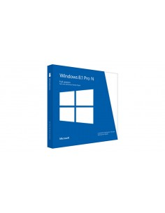 Microsoft Windows 8.1 Pro N Microsoft 43R-00135 - 1
