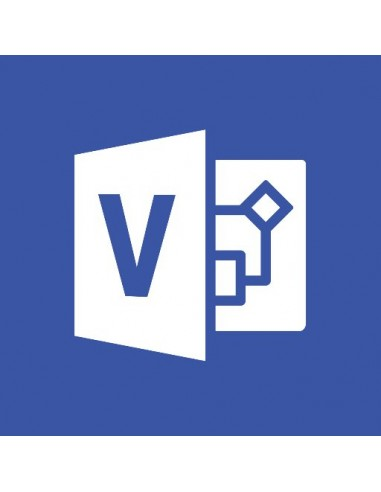 Microsoft Office Visio Professional Microsoft D87-04250 - 1