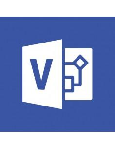 Microsoft Visio Professional 2019 1 lisenssi(t) Monikielinen Microsoft D87-07425 - 1