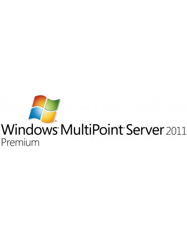 Microsoft Windows MultiPoint Server 2011 Premium, OVL-NL, 1 SrvLic, SA 1Y-Y3 Microsoft V7J-00171 - 1