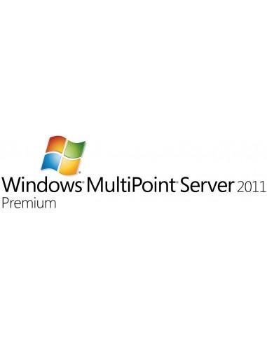Microsoft Windows MultiPoint Server 2011 Premium, SA, OLP-C Microsoft V7J-00418 - 1
