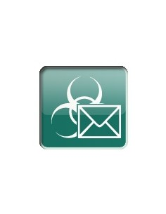 Kaspersky Lab Security for Mail Server, 10-14U, 1Y, Base Peruslisenssi 1 vuosi/vuosia Kaspersky KL4313XAKFS - 1