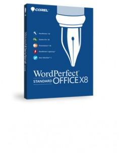 Corel WordPerfect Office X8 - Standard Edition, 5 24U, Level 2. EN/FR Englanti, Ranska Corel LCWPX8ML2 - 1