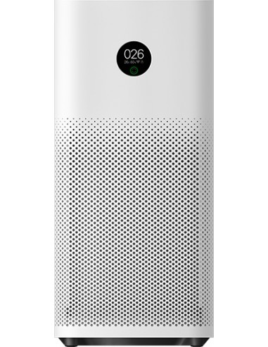 Xiaomi Mi Air Purifier 3H ilmanpuhdistin 45 m² 64 dB 38 W Musta, Valkoinen Xiaomi 6934177710612 - 1