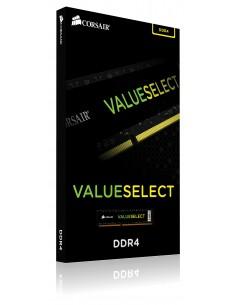 Corsair ValueSelect 4GB, DDR4, 2400MHz muistimoduuli 1 x 4 GB Corsair CMV4GX4M1A2400C16 - 1