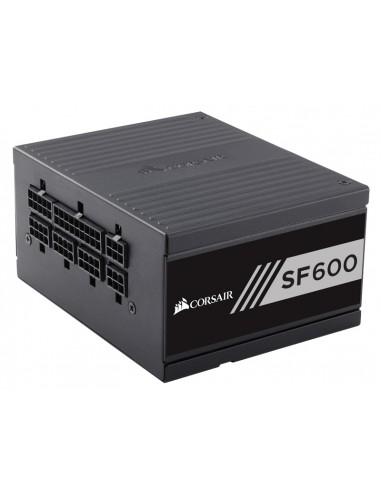 Corsair SF600 virtalähdeyksikkö 600 W 24-pin ATX SFX Musta Corsair CP-9020105-EU - 1