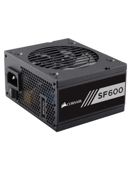 Corsair SF600 virtalähdeyksikkö 600 W 24-pin ATX SFX Musta Corsair CP-9020105-EU - 2