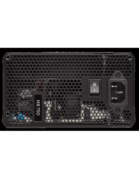 Corsair HX750 virtalähdeyksikkö 750 W 20+4 pin ATX Musta Corsair CP-9020137-EU - 3