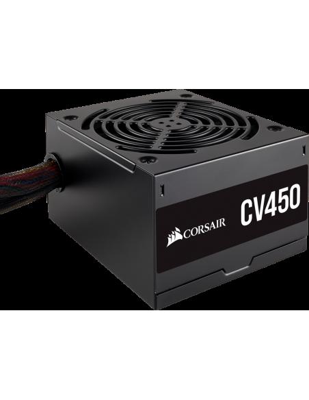 Corsair CV450 virtalähdeyksikkö 450 W 20+4 pin ATX Musta Corsair CP-9020209-EU - 7
