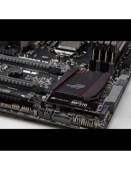Corsair Force MP510 M.2 1920 GB PCI Express 3.0 3D TLC NVMe Corsair CSSD-F1920GBMP510 - 7