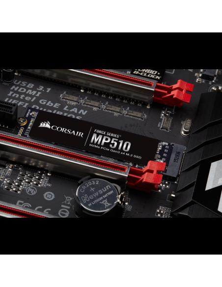 Corsair Force MP510 M.2 1920 GB PCI Express 3.0 3D TLC NVMe Corsair CSSD-F1920GBMP510 - 8