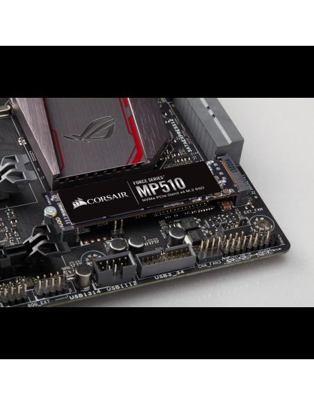 Corsair Force MP510 M.2 240 GB PCI Express 3.0 3D TLC NVMe Corsair CSSD-F240GBMP510 - 5