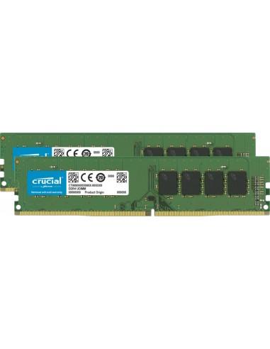 Crucial CT2K16G4DFRA266 muistimoduuli 32 GB 2 x 16 DDR4 2666 MHz Crucial Technology CT2K16G4DFRA266 - 1