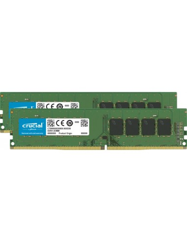 Crucial CT2K16G4DFRA32A muistimoduuli 32 GB 2 x 16 DDR4 3200 MHz Crucial Technology CT2K16G4DFRA32A - 1