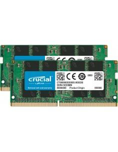Crucial CT2K16G4SFRA266 muistimoduuli 32 GB 2 x 16 DDR4 2666 MHz Crucial Technology CT2K16G4SFRA266 - 1