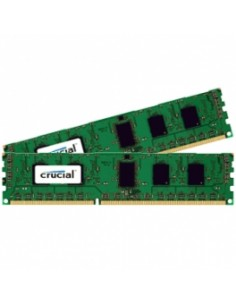 Crucial CT2K51264BD160BJ muistimoduuli 8 GB DDR3 1600 MHz Crucial Technology CT2K51264BD160BJ - 1