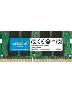 Crucial CT8G4SFRA266 muistimoduuli 8 GB 1 x DDR4 2666 MHz Crucial Technology CT8G4SFRA266 - 1