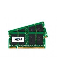 Crucial 2GB DDR2 SODIMM muistimoduuli 800 MHz Crucial Technology CT2KIT12864AC800 - 1