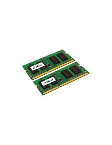 Crucial 2x 2GB, DDR3, 1600MHz, 204pin muistimoduuli 4 GB 2 x Crucial Technology CT2KIT25664BF160BJ - 1