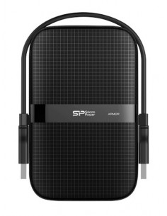 Silicon Power Armor A60 All Blk 2tb Usb 3.0 2,5 Silicon Power SP020TBPHDA60S3A - 1