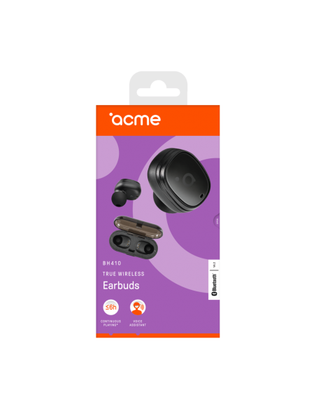 ACME BH410 kuulokkeet ja kuulokemikrofoni In-ear Musta Acme Europe 249815 - 12