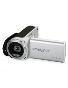 Easypix DVC5127 Trip 12 MP CMOS Kannettava videokamera Musta, Hopea Easypix DVC5127TRIP - 1